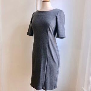 Banana Republic Dresses - Banana Republic Gray Shimmer Career/Party Dress 4